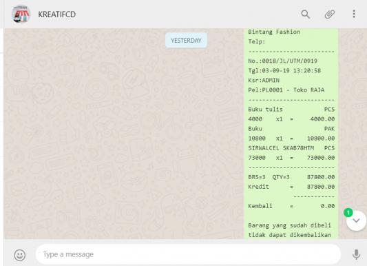 aplikasi ketoko webbase bisa di IOS Android Windows