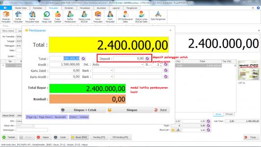 Modul Pembayaran Kasir IPOS 5