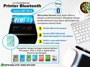 printer bluetooth iware