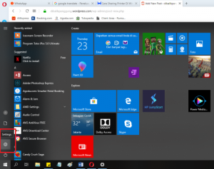 Cara Cepat Sharing Printer dengan Jaringan Wi-fi / LAN di Windows 10
