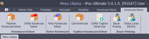MENU-MENU YANG TERDAPAT PADA IPOS 5 ULTIMATE EDITION