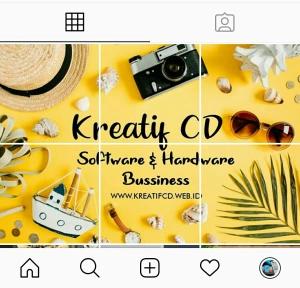 Contoh Feed Instagram